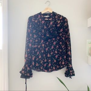 rebecca minkoff | floral frenchie top